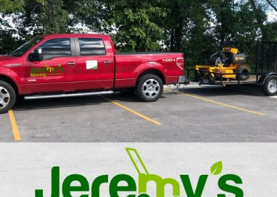 jeremys mowings professional lawn equipment