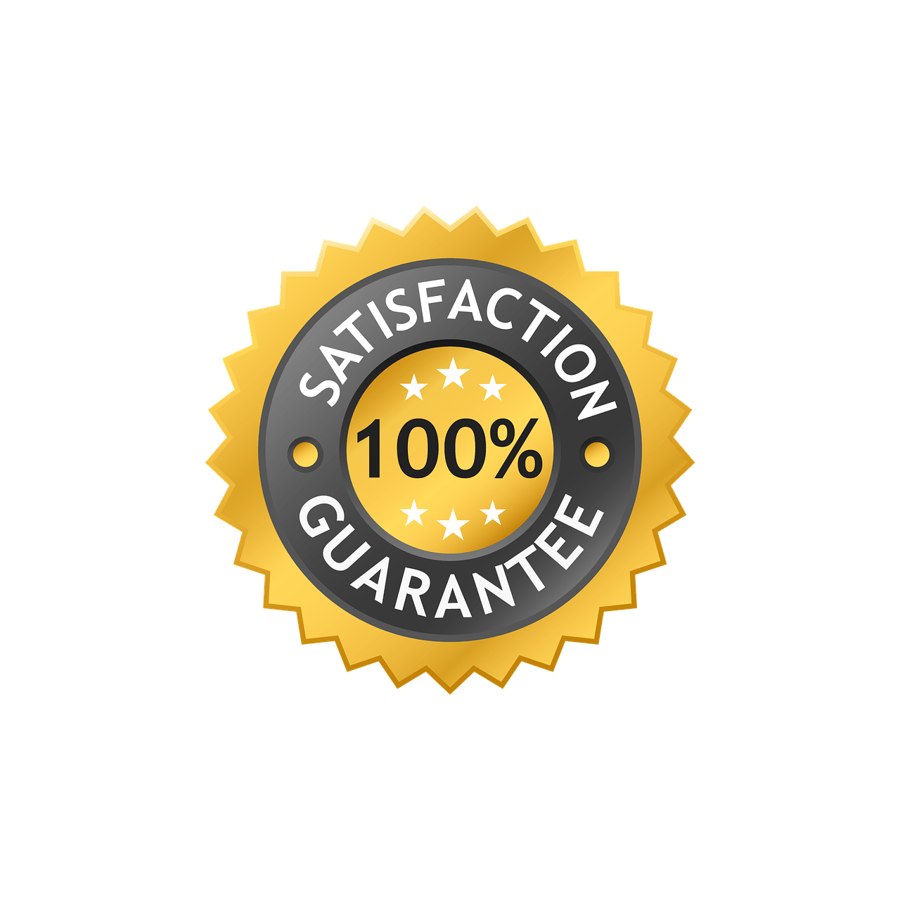 100% satisfaction or your money back
