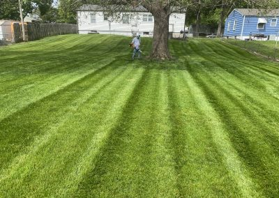 Lawn mowing service, Independence, Missouri